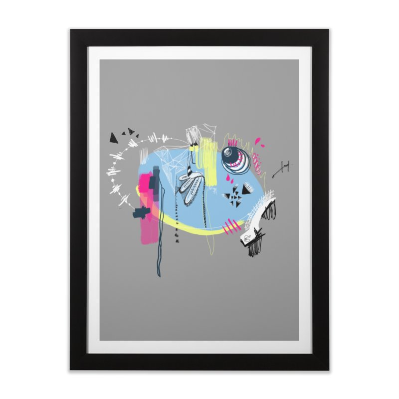 Yowo! Home Framed Fine Art Print by riamizuko's Artist Shop