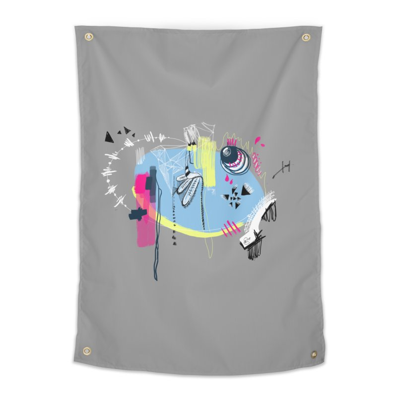 Yowo! Home Tapestry by riamizuko's Artist Shop