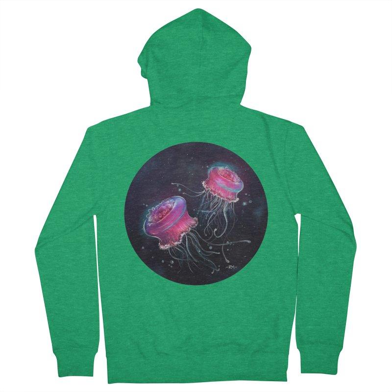 Medusa Women's Zip-Up Hoody by riamizuko's Artist Shop
