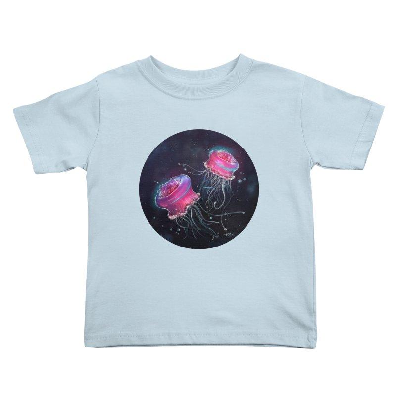 Medusa Kids Toddler T-Shirt by riamizuko's Artist Shop
