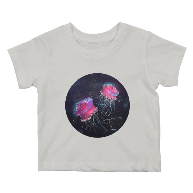 Medusa Kids Baby T-Shirt by riamizuko's Artist Shop