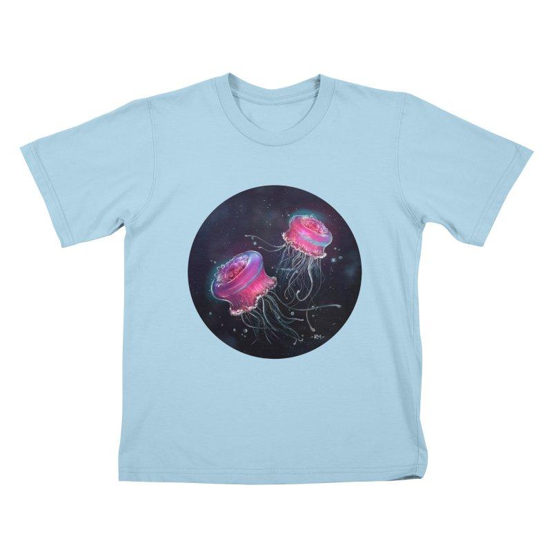 Medusa Kids T-Shirt by riamizuko's Artist Shop
