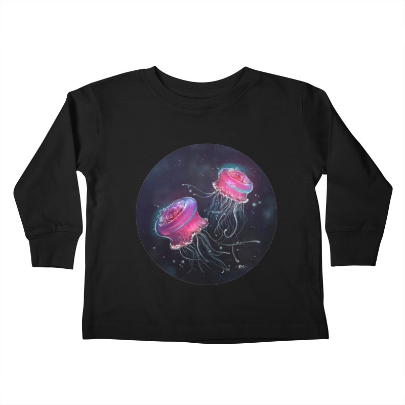 Medusa Kids Toddler Longsleeve T-Shirt by riamizuko's Artist Shop
