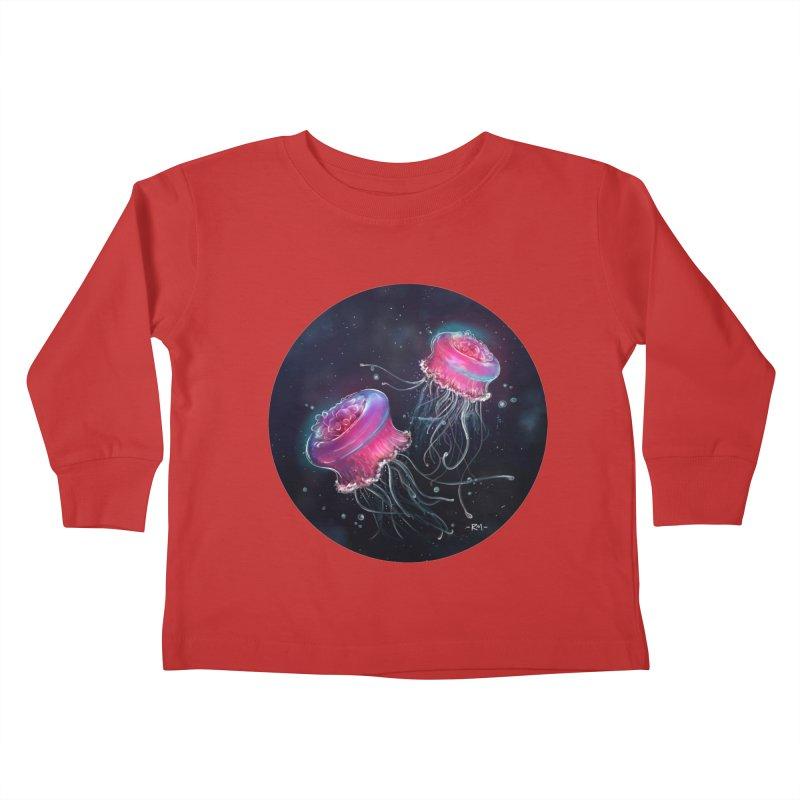 Medusa Kids Toddler Longsleeve T-Shirt by riamizuko's Artist Shop