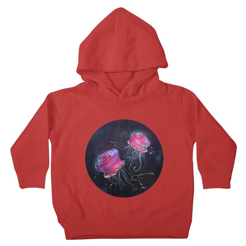 Medusa Kids Toddler Pullover Hoody by riamizuko's Artist Shop
