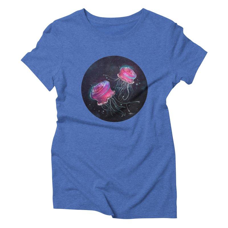 Medusa Women's Triblend T-Shirt by riamizuko's Artist Shop
