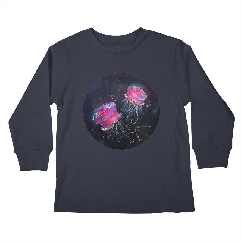 Medusa Kids Longsleeve T-Shirt by riamizuko's Artist Shop