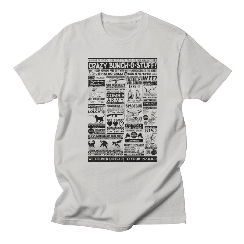 When Geekness Goes Retro Men's T-shirt by Riccardo Bucchioni's Shop