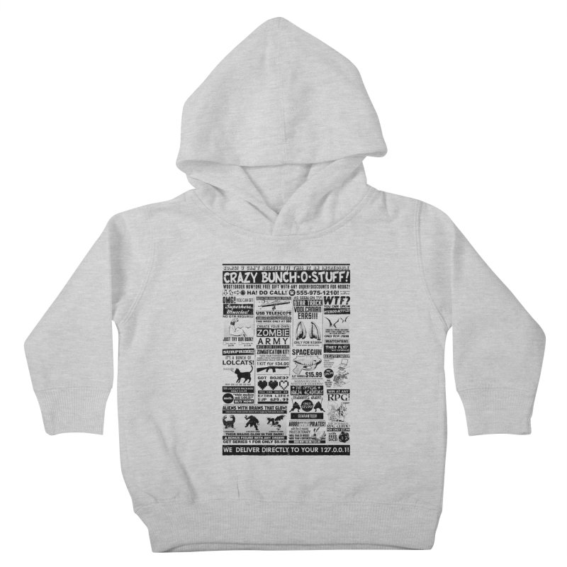 When Geekness Goes Retro Kids Toddler Pullover Hoody by Riccardo Bucchioni's Shop