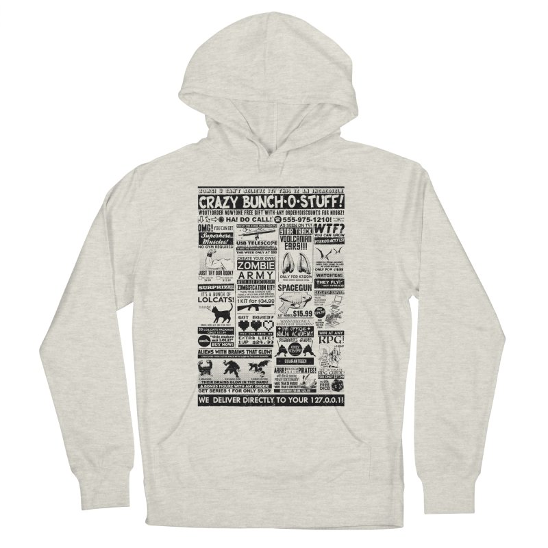 When Geekness Goes Retro Men's Pullover Hoody by Riccardo Bucchioni's Shop