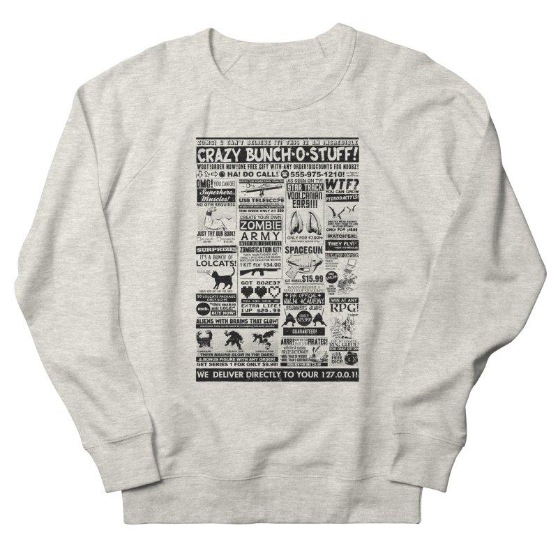 When Geekness Goes Retro Men's Sweatshirt by Riccardo Bucchioni's Shop