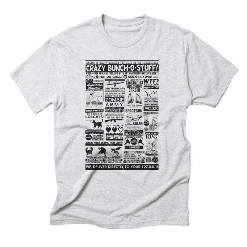 When Geekness Goes Retro Men's Triblend T-shirt by Riccardo Bucchioni's Shop