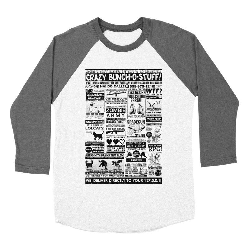 When Geekness Goes Retro Men's Baseball Triblend T-Shirt by Riccardo Bucchioni's Shop