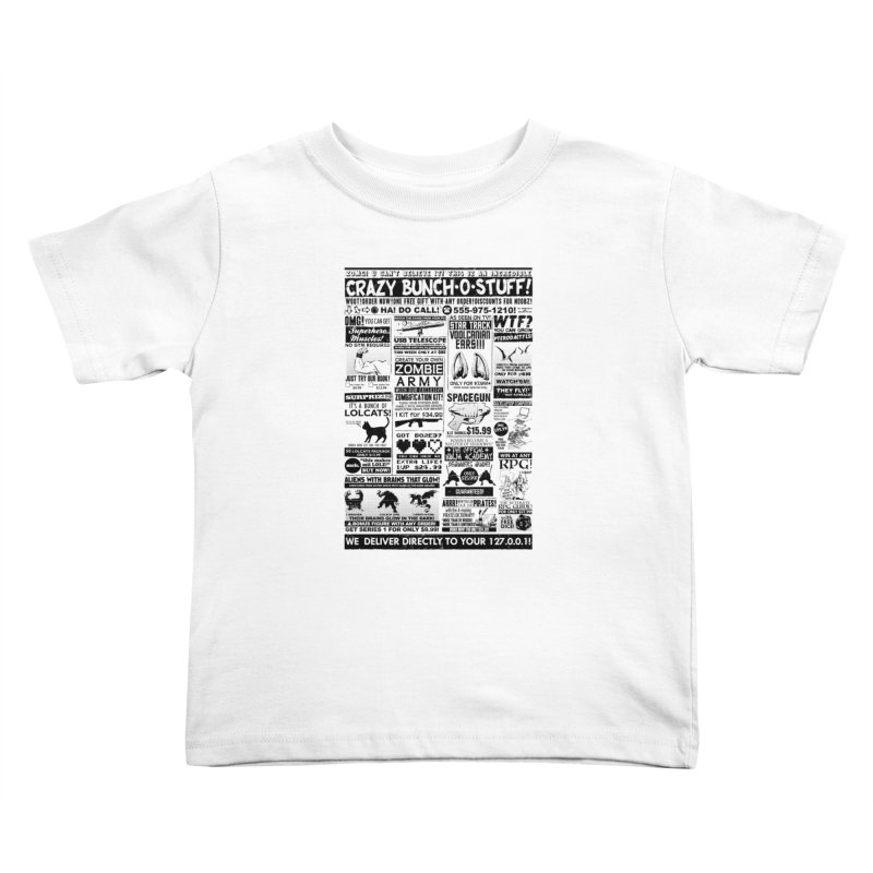 When Geekness Goes Retro Kids Toddler T-Shirt by Riccardo Bucchioni's Shop