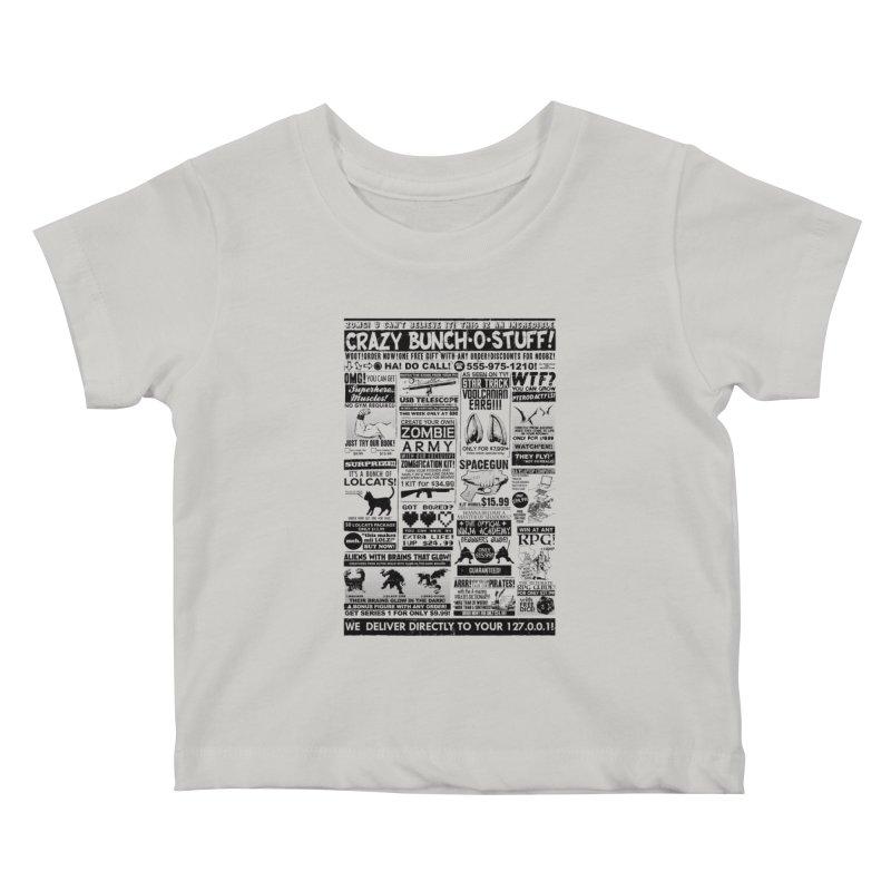 When Geekness Goes Retro Kids Baby T-Shirt by Riccardo Bucchioni's Shop