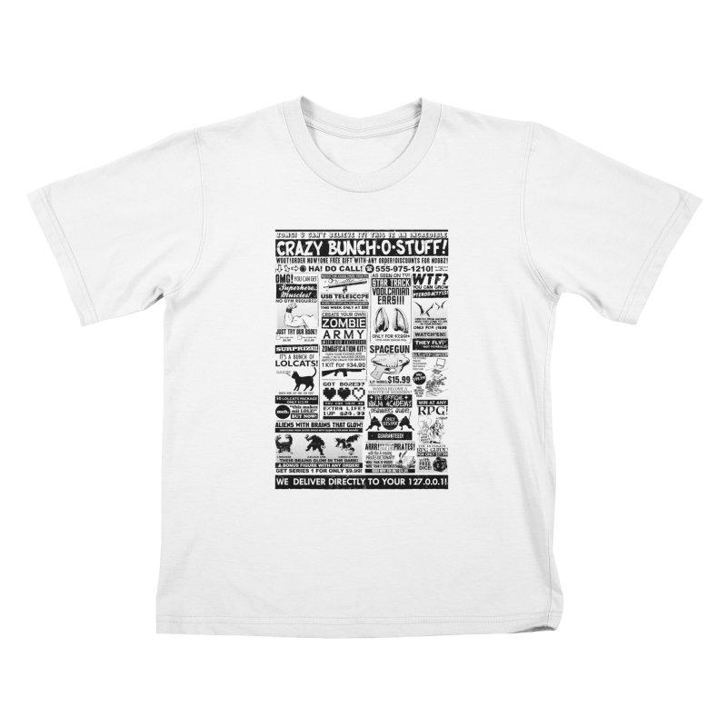 When Geekness Goes Retro Kids T-Shirt by Riccardo Bucchioni's Shop