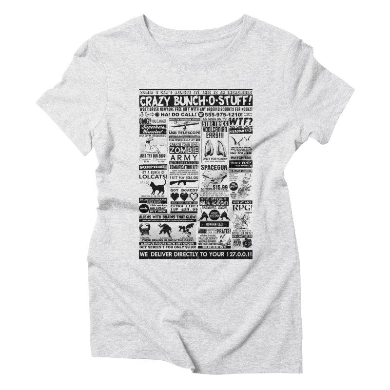 When Geekness Goes Retro Women's Triblend T-Shirt by Riccardo Bucchioni's Shop