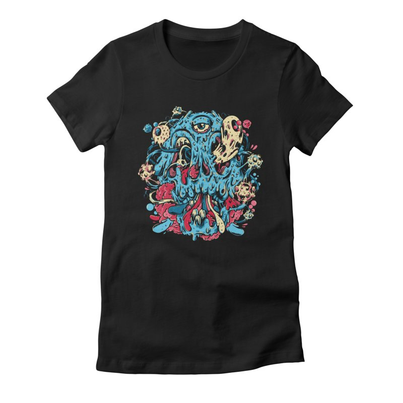 Rotten Candy Machine Women's Fitted T-Shirt by Riccardo Bucchioni's Shop