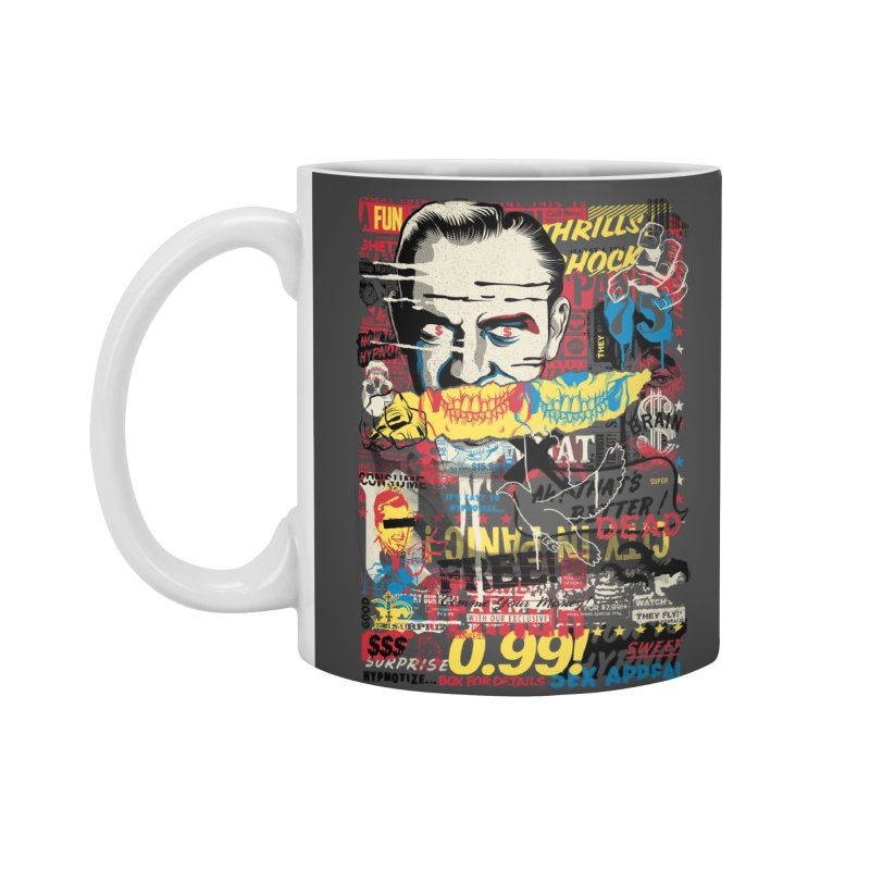 Advertising Inferno Accessories Mug by Riccardo Bucchioni's Shop
