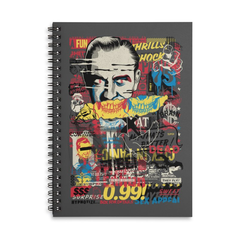Advertising Inferno Accessories Notebook by Riccardo Bucchioni's Shop