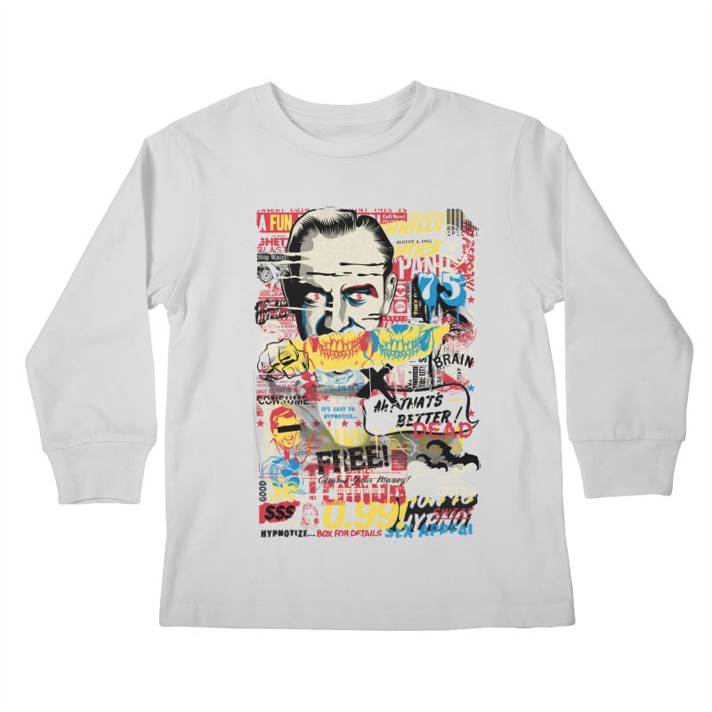 Advertising Inferno Kids Longsleeve T-Shirt by Riccardo Bucchioni's Shop