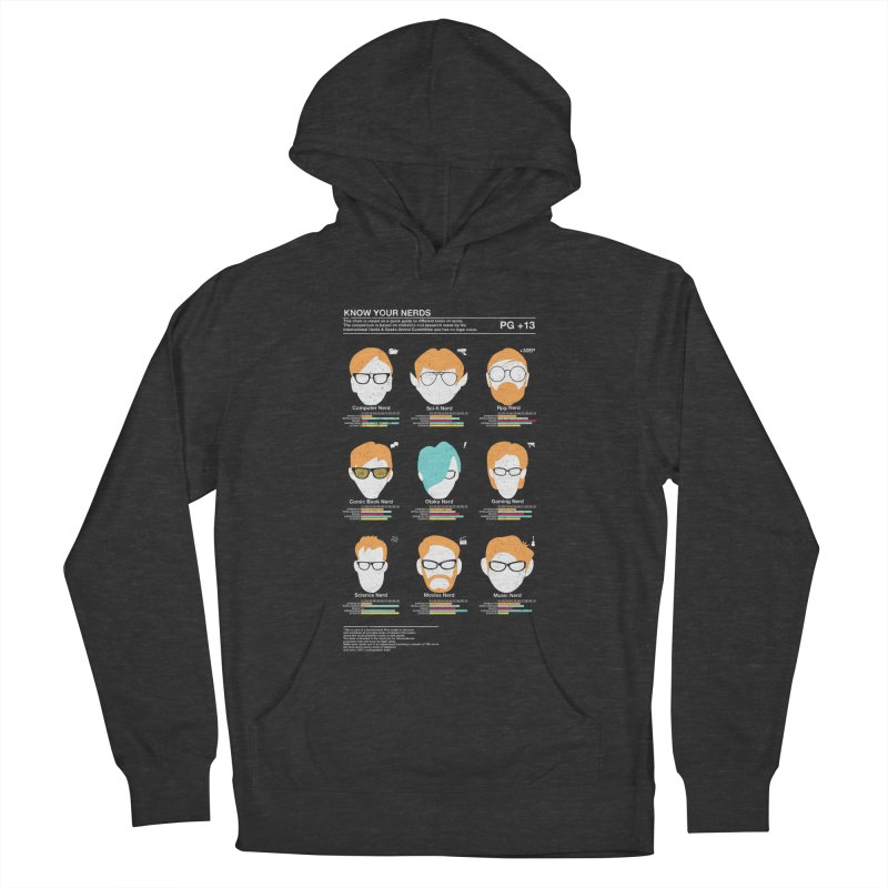 Know Your Nerds Women's Pullover Hoody by Riccardo Bucchioni's Shop