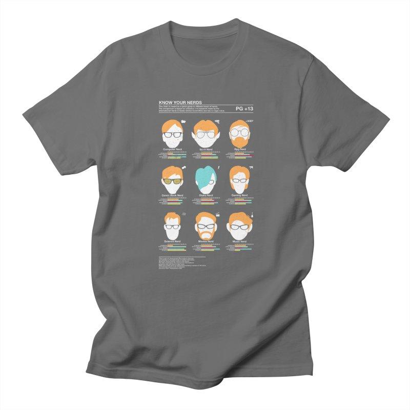 Know Your Nerds Men's T-Shirt by Riccardo Bucchioni's Shop
