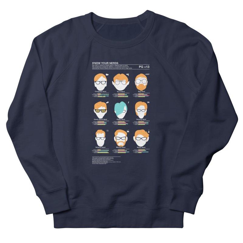 Know Your Nerds Men's Sweatshirt by Riccardo Bucchioni's Shop
