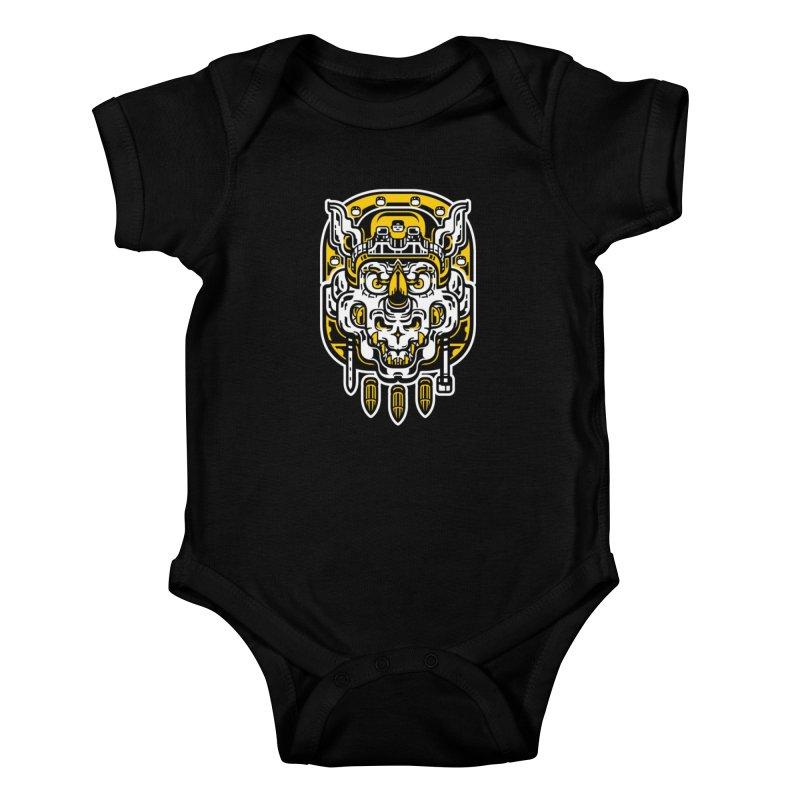 Goldy Rocksteady Kids Baby Bodysuit by ricechuchu's Artist Shop