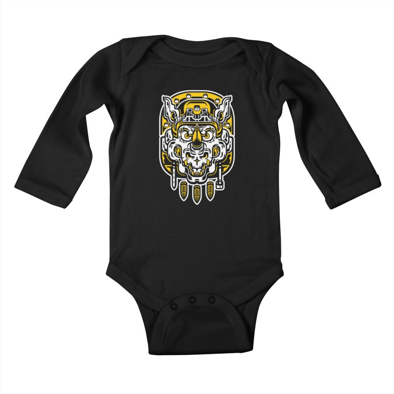 Goldy Rocksteady Kids Baby Longsleeve Bodysuit by ricechuchu's Artist Shop