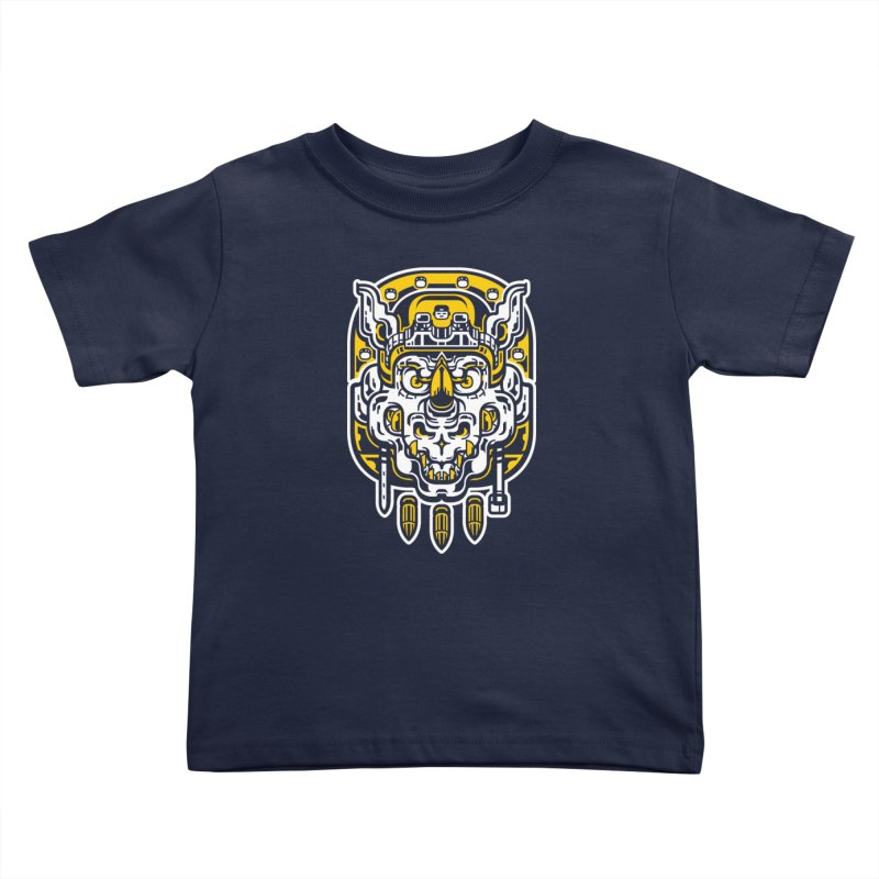 Goldy Rocksteady Kids Toddler T-Shirt by ricechuchu's Artist Shop