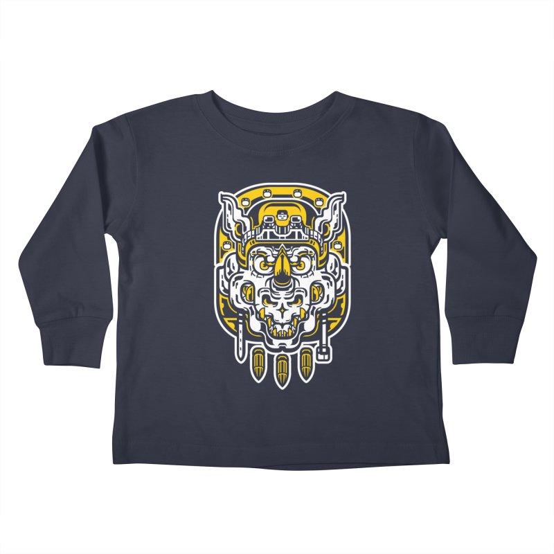 Goldy Rocksteady Kids Toddler Longsleeve T-Shirt by ricechuchu's Artist Shop