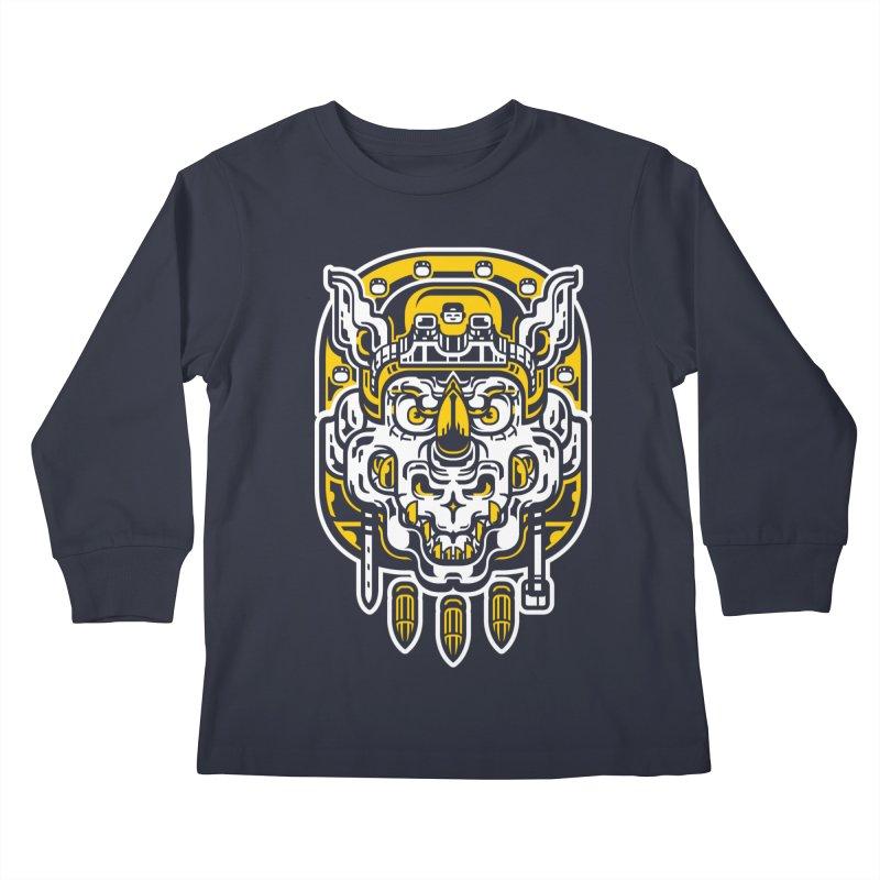 Goldy Rocksteady Kids Longsleeve T-Shirt by ricechuchu's Artist Shop