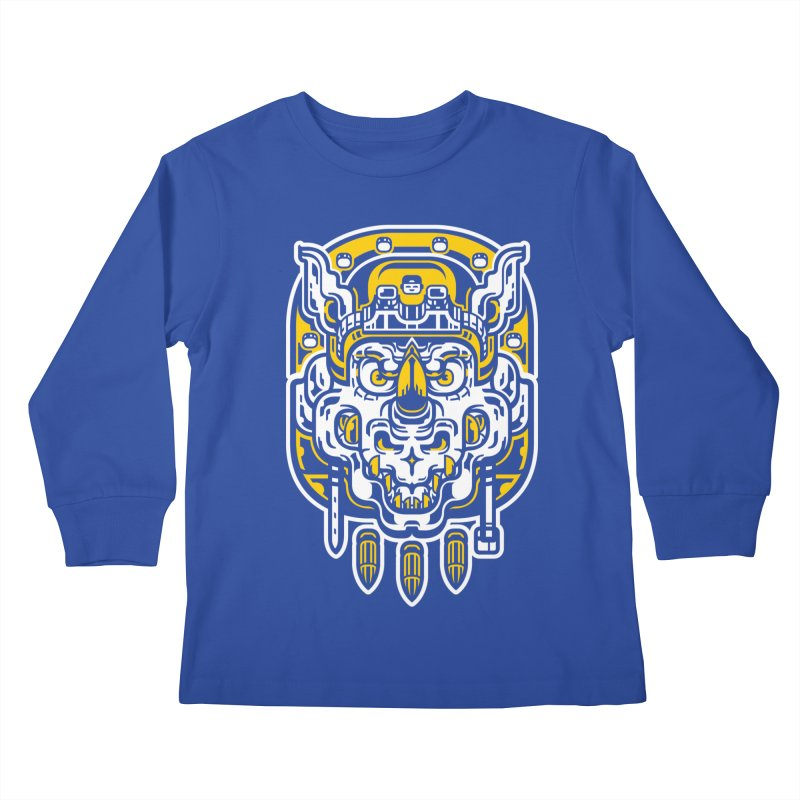 Goldy Rocksteady Kids Longsleeve T-Shirt by ricechuchu's Artist Shop
