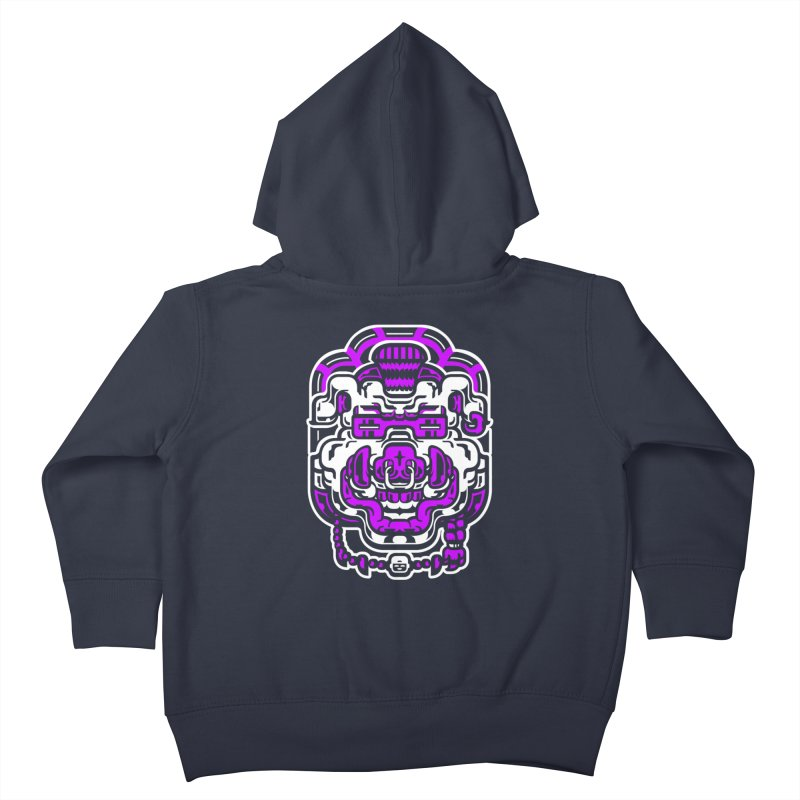Beastie Bebop Kids Toddler Zip-Up Hoody by ricechuchu's Artist Shop