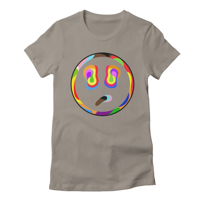 Smile Women's Fitted T-Shirt by Richard Favaloro's Shop