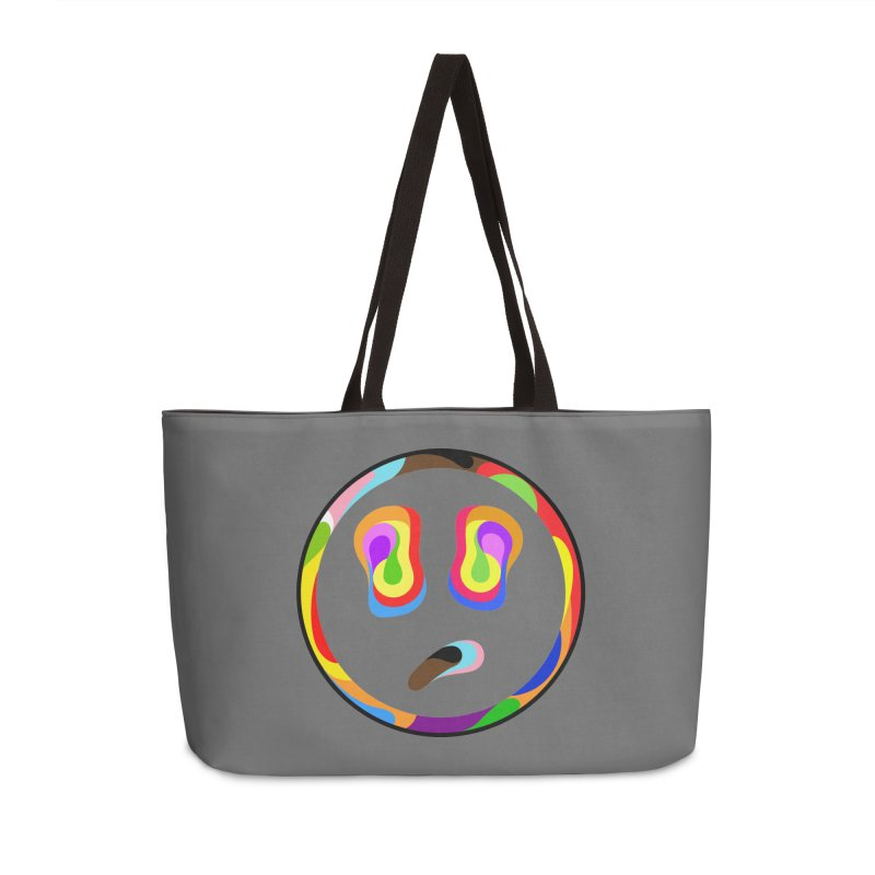 Smile Accessories Weekender Bag Bag by Richard Favaloro's Shop