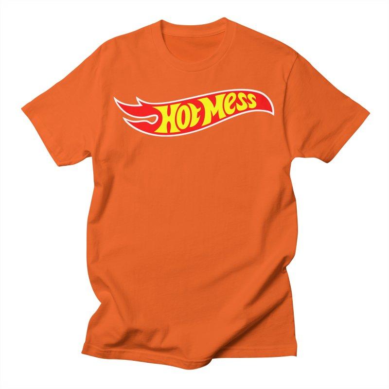 Hot Mess Men's T-Shirt by Richard Favaloro's Shop