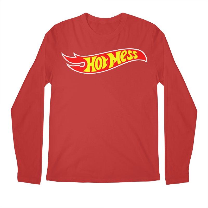 Hot Mess Men's Regular Longsleeve T-Shirt by Richard Favaloro's Shop