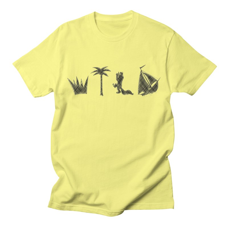 WILD Men's T-Shirt by Richard Favaloro's Shop