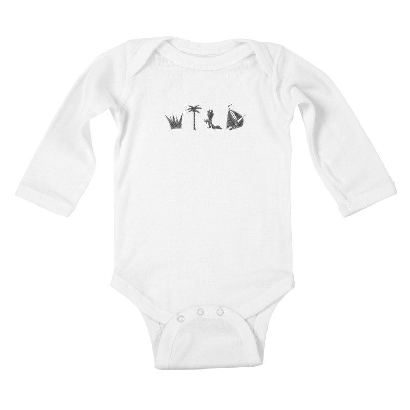 WILD Kids Baby Longsleeve Bodysuit by Richard Favaloro's Shop