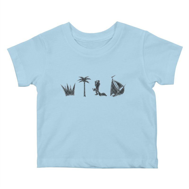 WILD Kids Baby T-Shirt by Richard Favaloro's Shop