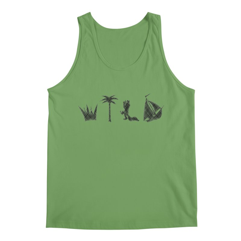 WILD Men's Tank by Richard Favaloro's Shop