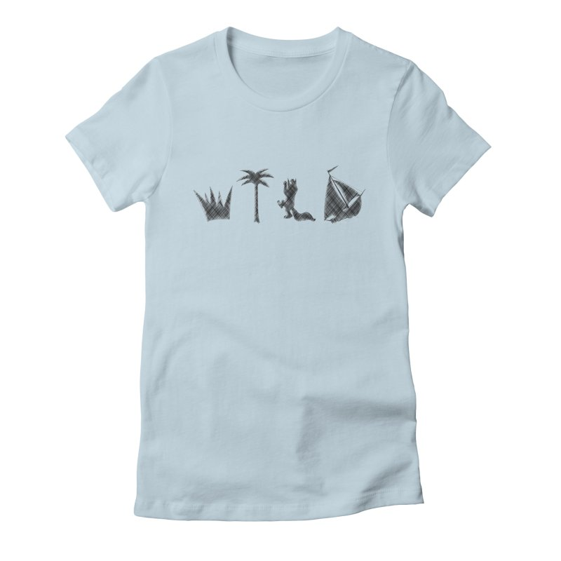WILD Women's Fitted T-Shirt by Richard Favaloro's Shop