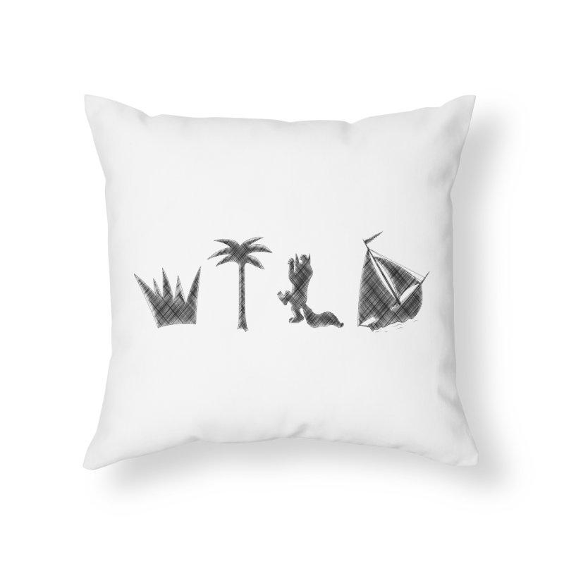 WILD Home Throw Pillow by Richard Favaloro's Shop