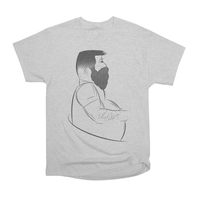 Mr. Morgan Men's Heavyweight T-Shirt by Richard Favaloro's Shop