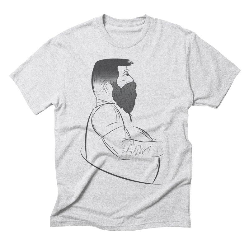 Mr. Morgan Men's Triblend T-Shirt by Richard Favaloro's Shop