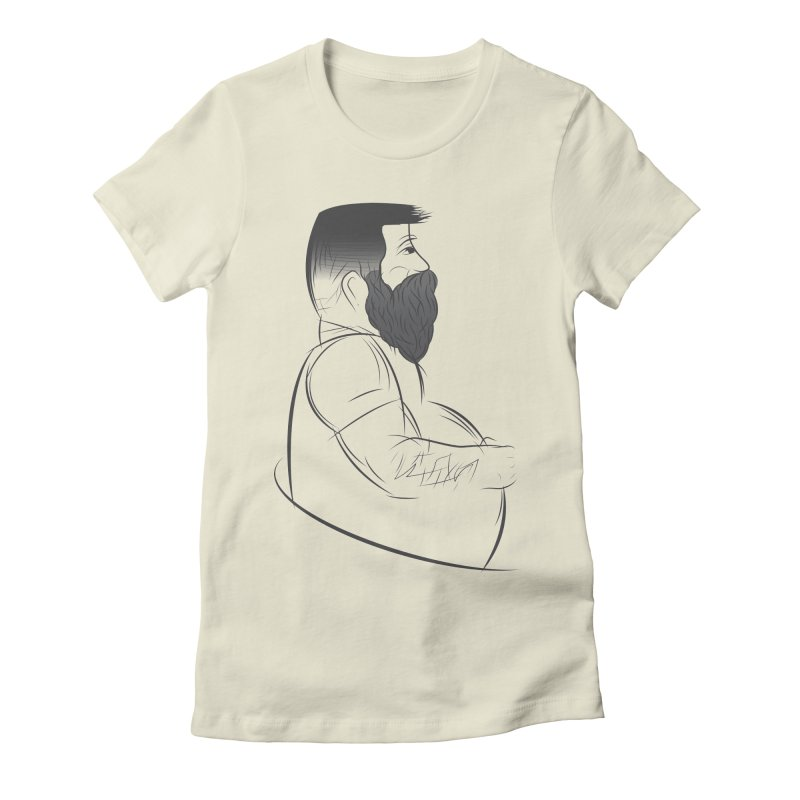 Mr. Morgan Women's Fitted T-Shirt by Richard Favaloro's Shop