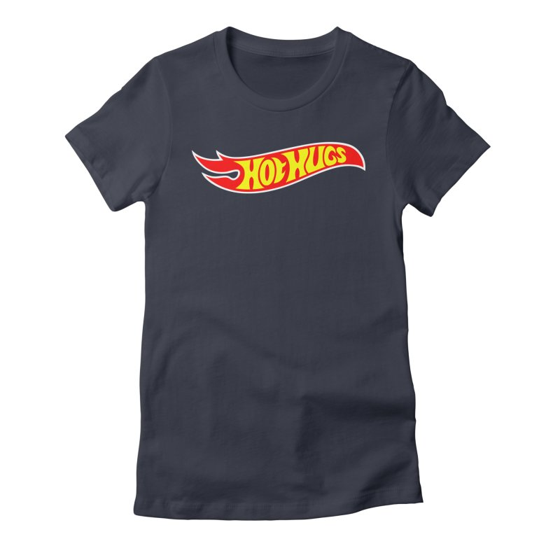 Hot Hugs Women's Fitted T-Shirt by Richard Favaloro's Shop