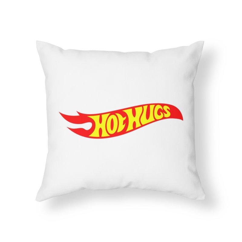 Hot Hugs Home Throw Pillow by Richard Favaloro's Shop